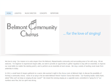 Tablet Preview of belmontcommunitychorus.org
